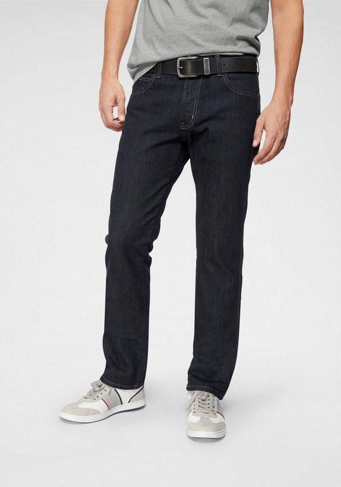 Herren Wrangler Straight-Jeans Arizona blau | 05415101514250