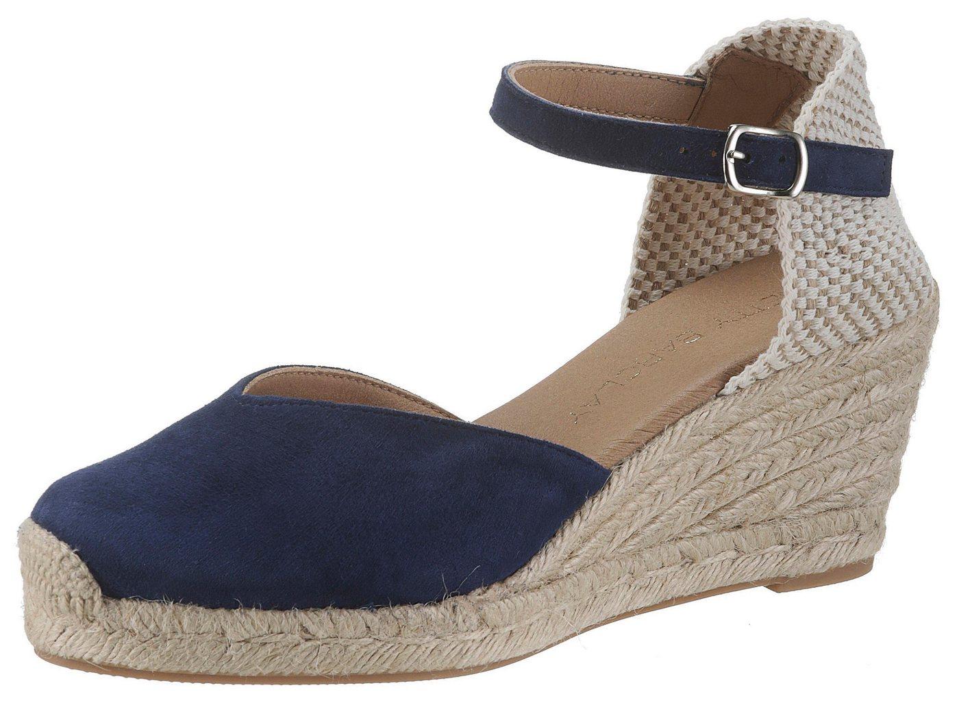 Betty Barclay Shoes Spangenpumps mit Juterand | Schuhe > Pumps > Spangenpumps | Blau | Betty Barclay Shoes
