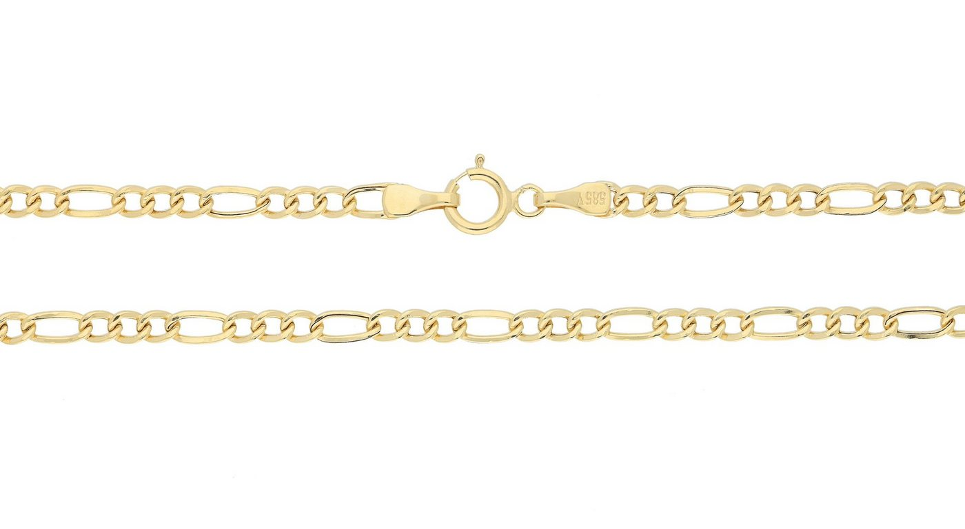Firetti Gliederkette »Figarokette« | Schmuck > Halsketten > Gliederketten | Goldfarben | Firetti