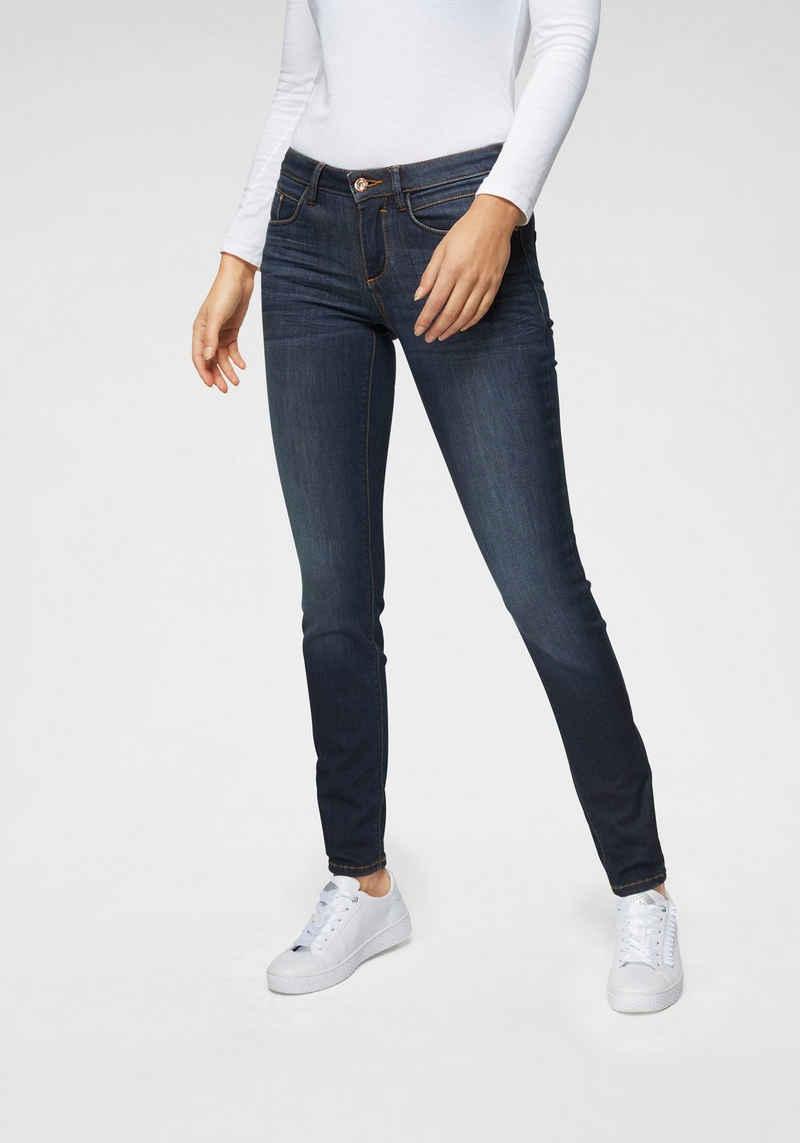 TOM TAILOR Skinny-fit-Jeans in figurbetonter 5-Pocket-Form