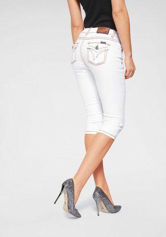 ARIZONA Капри джинсы »mit Pattentaschen ...