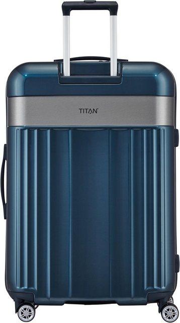 TITAN® Hartschalen-Trolley »Spotlight Flash, North Sea, 76 cm«, 4 Rollen   Taschen > Koffer & Trolleys > Trolleys   Polycarbonat - Abs   TITAN®