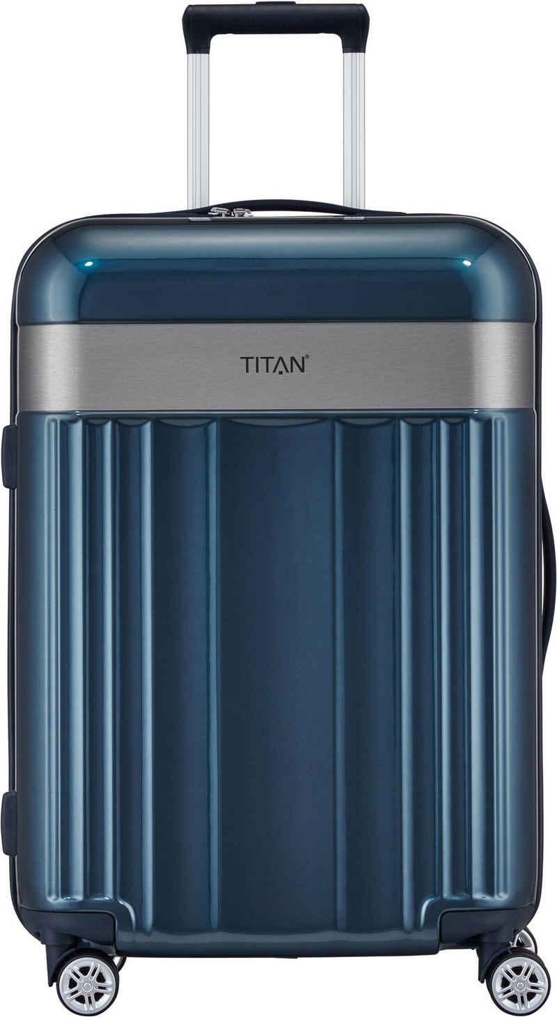 TITAN® Hartschalen-Trolley »Spotlight Flash, North Sea, 67 cm«, 4 Rollen