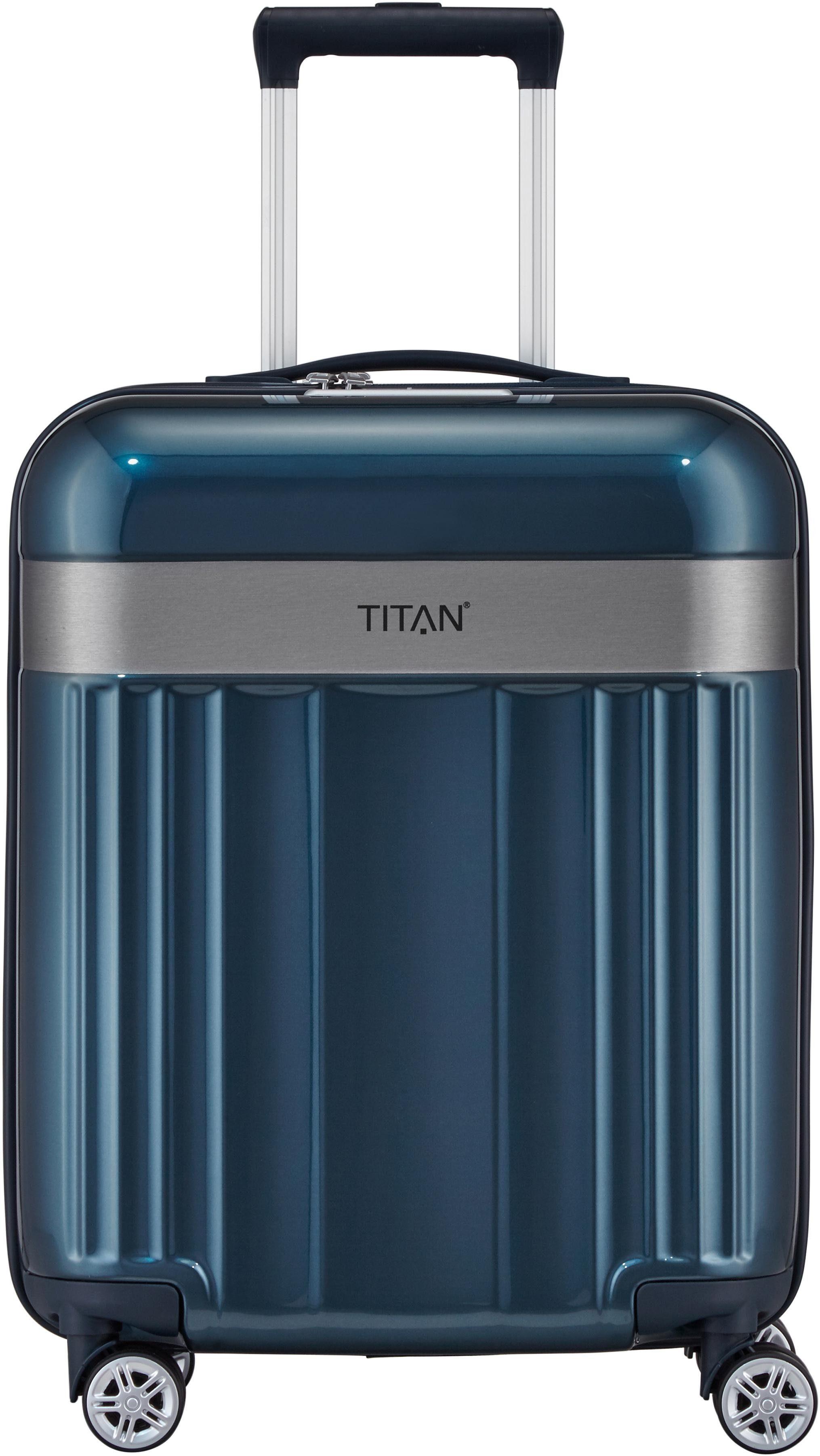 TITAN® Hartschalen-Trolley »Spotlight Flash, 55 cm«, 4 Rollen