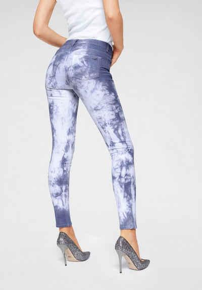 9b7ea1538c5b12 Arizona Skinny-fit-Jeans »in Batik Waschung« Mid Waist