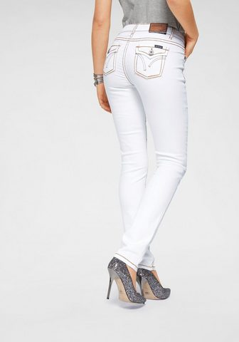 Узкие джинсы »mit Kontrastnä...