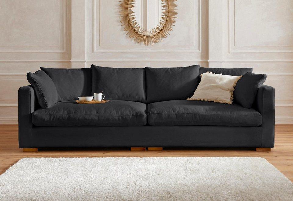 Gmk Home Living Big Sofa Pantin Extra Weich Und Kuschelig