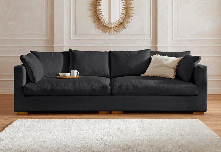 Guido Maria Kretschmer Home&Living Big-Sofa »Pantin«, extra weich und kuschelig, Füllung auch mit Federn und Daunen