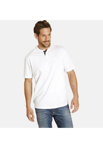Herren Jan Vanderstorm T-Shirt Set: VERNU (Packung 2er-Pack) in zwei verschiedenen Designs rot | 04056916320684