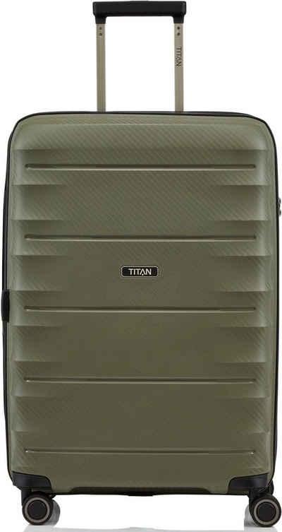 TITAN® Hartschalen-Trolley »Highlight, 68 cm«, 4 Rollen