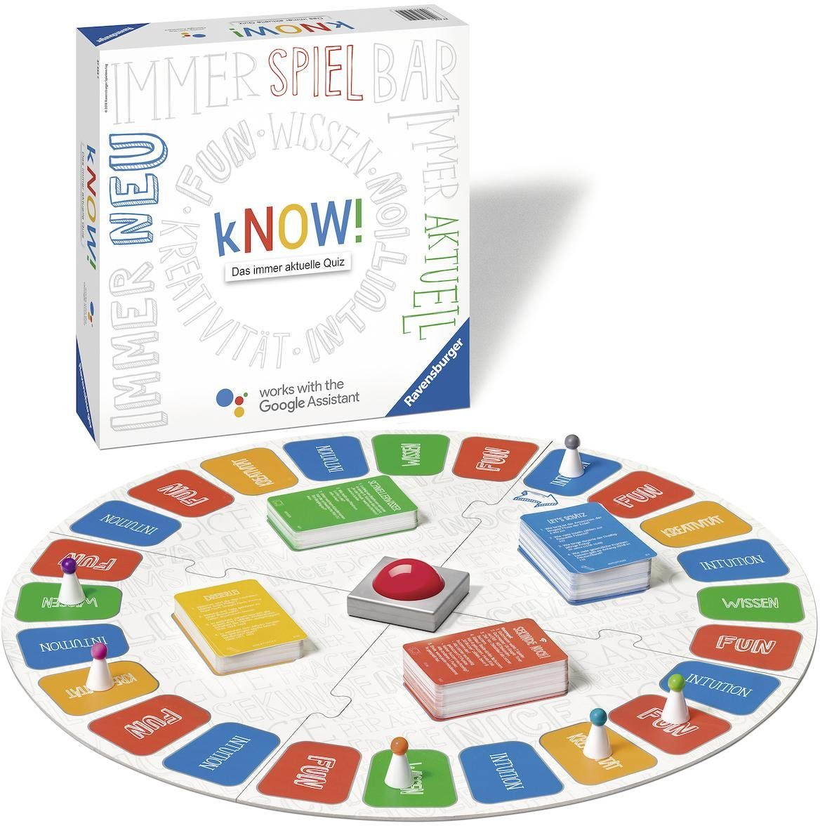 Ravensburger Quizspiel, »kNOW!«