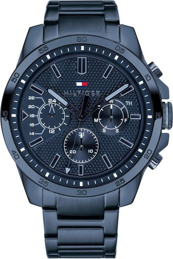 TOMMY HILFIGER Multifunktionsuhr »Casual, 1791560«