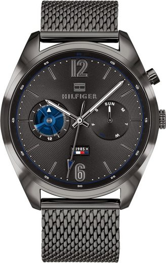 TOMMY HILFIGER Multifunktionsuhr »Casual, 1791546«