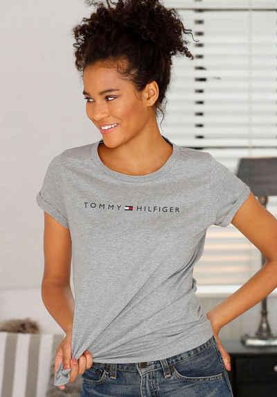 Tommy Hilfiger T-Shirt »Modern Cotton« mit Logo-Print vorn