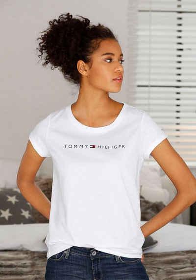 Stilvoll Tommy Hilfiger T Shirts Damen T Shirt Jeana