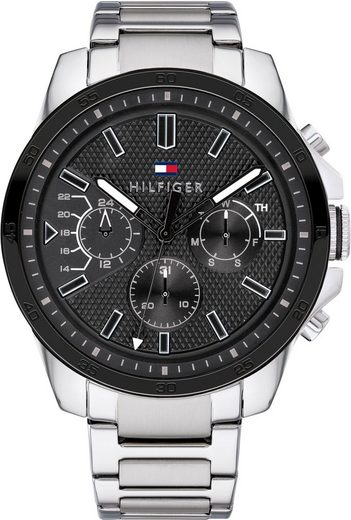 TOMMY HILFIGER Multifunktionsuhr »Casual, 1791564«