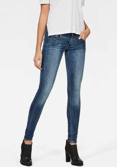 G-Star RAW Skinny-fit-Jeans »Lynn D-Mid Waist Super Skinny« feminine Variante der klassischen 5-Pocket-Jeans