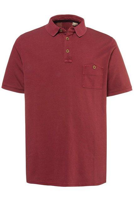 jp1880 -  Poloshirt bis 7XL, Poloshirt aus Piqué, T-Shirt mit Brusttasche & Polokragen, gerippte Abschlüsse, Baumwolle