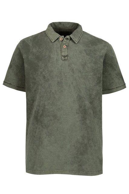 jp1880 -  Poloshirt bis 7XL, Poloshirt, T-Shirt aus Flammjersey, antic dyed, Polokragen, reine Baumwolle