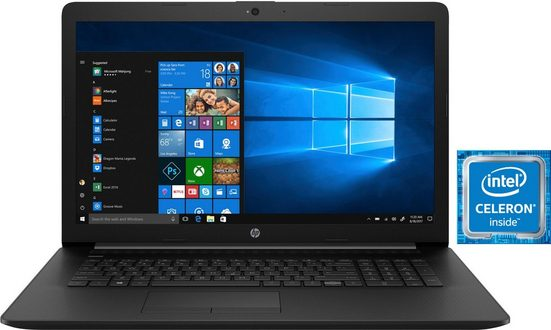 HP 17-by0218ng Notebook (43,9 cm/17,3 Zoll, Intel Celeron, 256 GB SSD)
