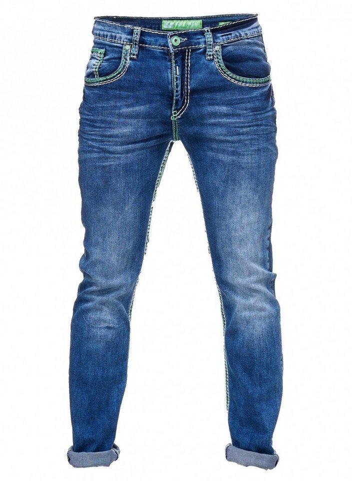 Weißer jeans herren dicker mit naht pietasulna: Herren