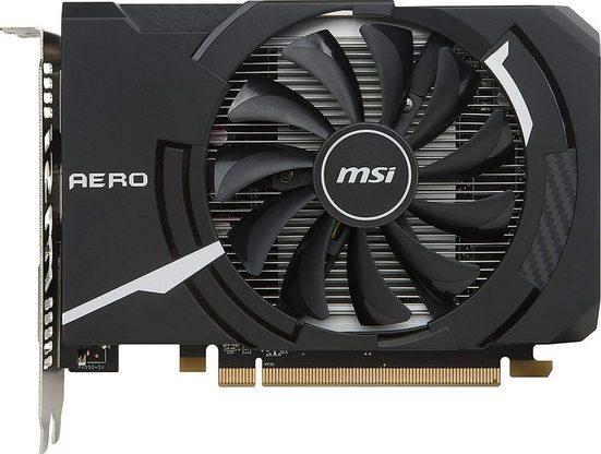 MSI Radeon RX 550 AERO ITX 2G OC »Grafikkarte«