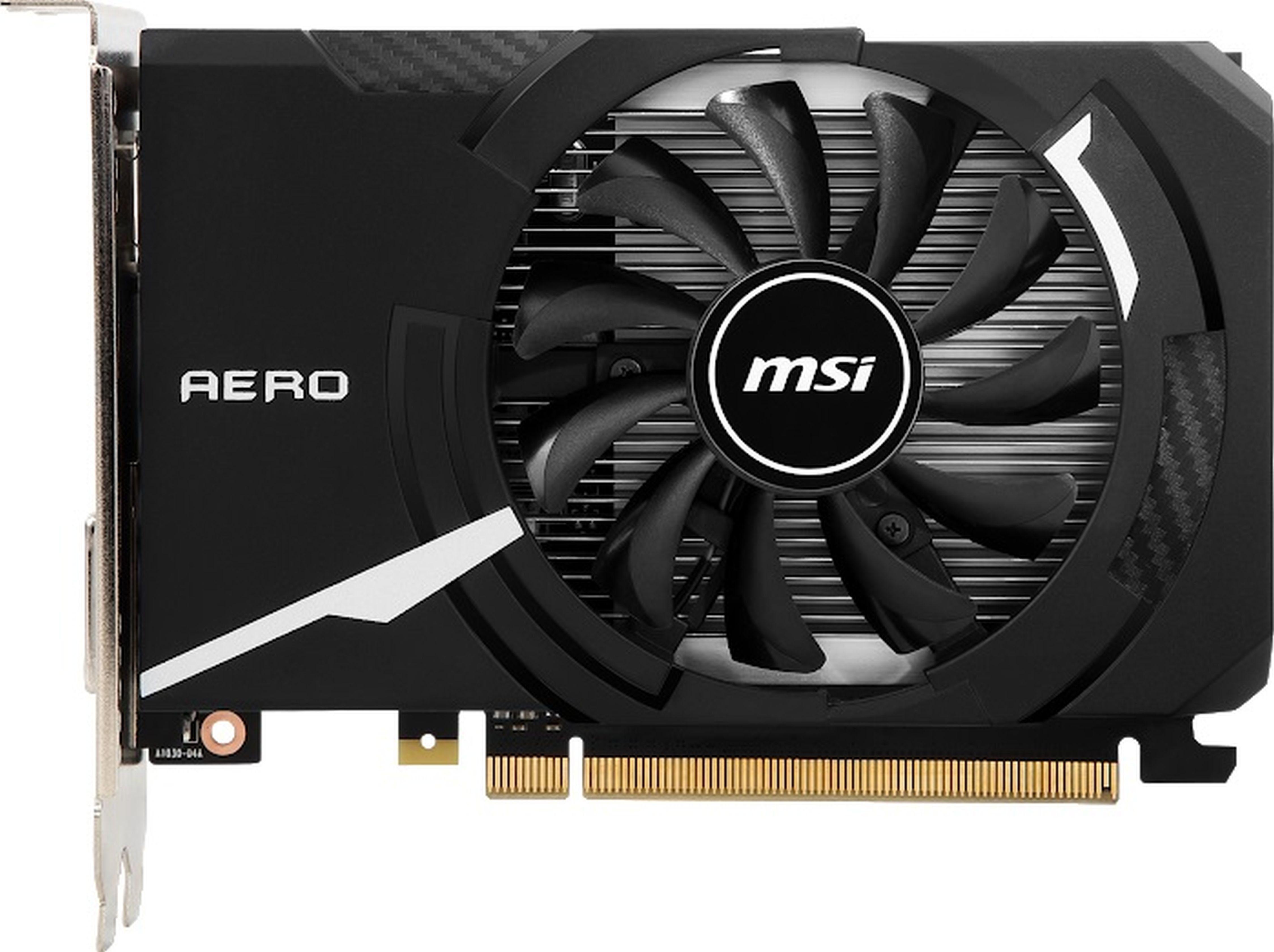 MSI GeForce® GT 1030 AERO ITX 2G OC »Grafikkarte«