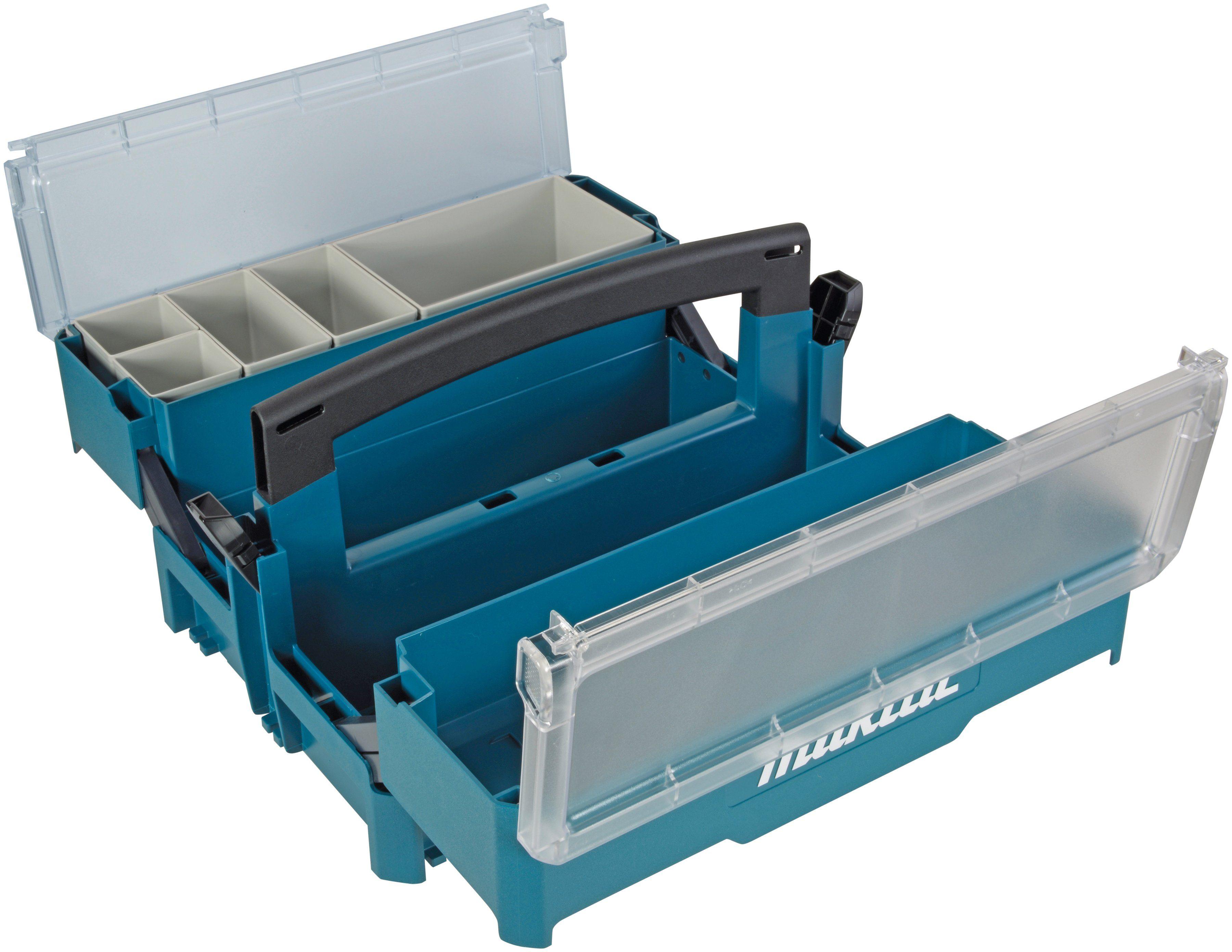 MAKITA Werkzeugkoffer »P-84137«, leer, 395 x 295 x 233 mm