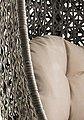 DESTINY Hängesessel »Cocoon«, Polyrattan, beige, inkl. Sitz- und Rückenkissen, Bild 7