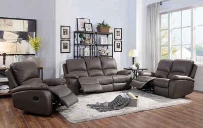 ATLANTIC home collection 3-Sitzer