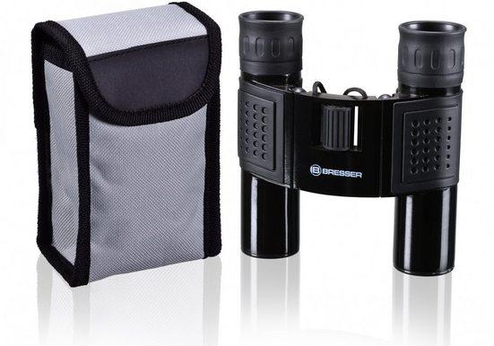 BRESSER Fernglas »Topas 10x25 mit robusten Metallgehäuse schwarz«