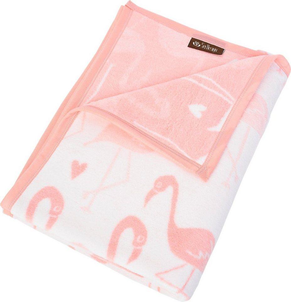 Wohndecke Flamingo Sei Design Mit Flamingos Otto