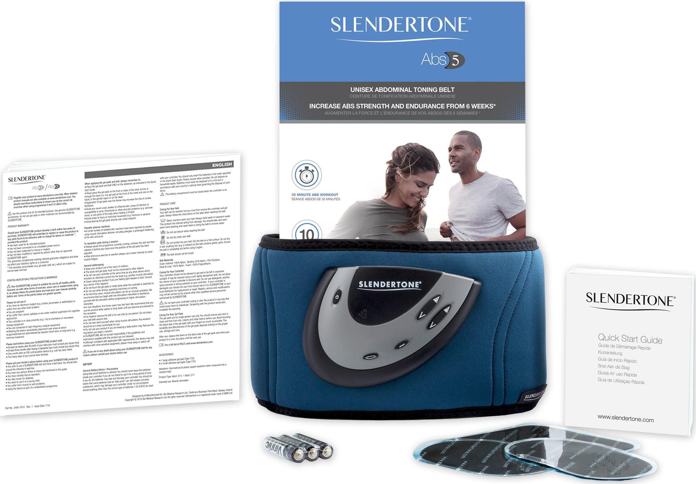 Slendertone EMS-Bauchmuskeltrainer »Abs 5 Unisex«