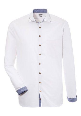 OS-TRACHTEN Tautinio stiliaus marškiniai su Zierst...
