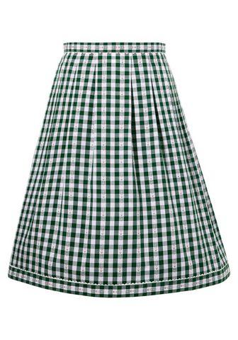 COUNTRY LINE Tautinio stiliaus sijonas su delikatus...