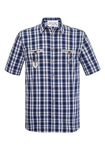 Рубашка в национальном костюме в модны...