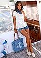 LASCANA Strandtasche, Shopper mit Anker, Bild 2