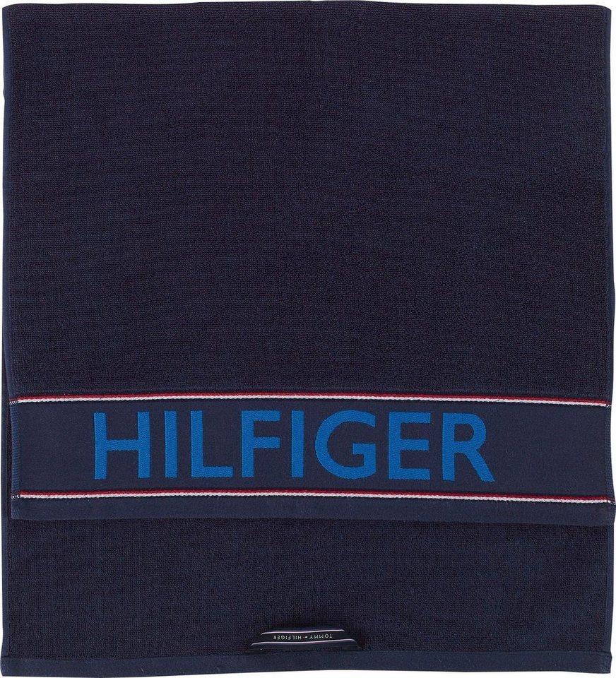 Handtucher Hilfiger Iconic Tommy Hilfiger Mit Grossem Schriftzug Online Kaufen Otto