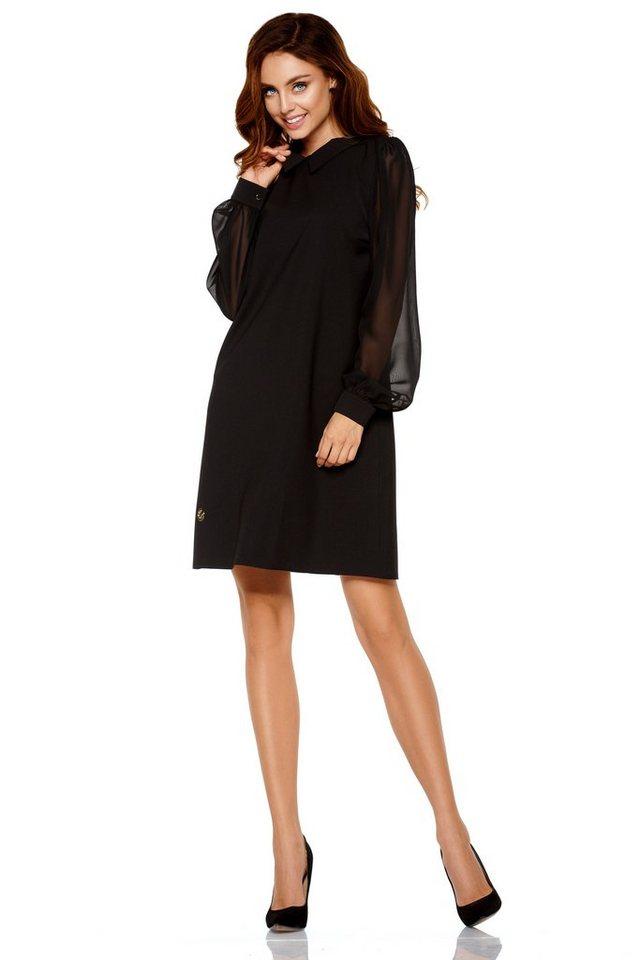 new style 32d91 0e618 lemoniade Langarm-Kleid mit modischem Hemdkragen | OTTO