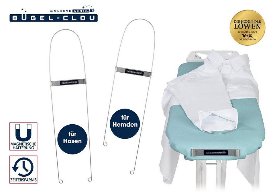 b gelhilfe b gel clou edelstahl 2er set f r rmel hosen online kaufen otto. Black Bedroom Furniture Sets. Home Design Ideas