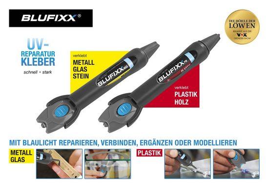 BLUFIXX Reparatur Set 1xKunststoff,Holz 1xMetall,Glas,Stein