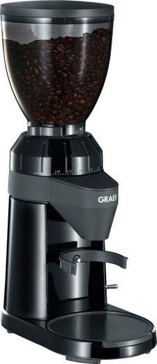 Graef Kaffeemühle CM 802, 120 W, Kegelmahlwerk, 350 g Bohnenbehälter, mit 40 Mahlgradeinstellungen
