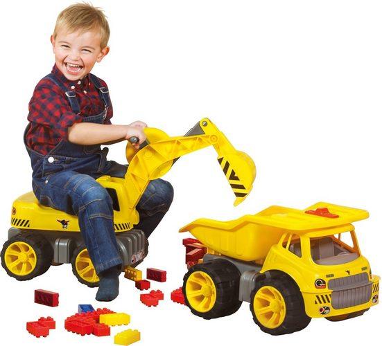 BIG Spielzeug-Bagger »BIG Power Worker Maxi Digger«, Aufsitz-Bagger