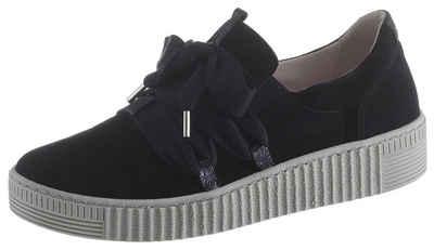 Gabor Slip-On Sneaker mit effektvoller Zierschnürung c49c0f4296