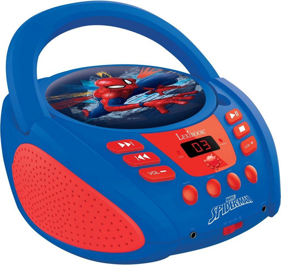 Lexibook CD Player mit Radio,  Ultimate Spider Man  online kaufen