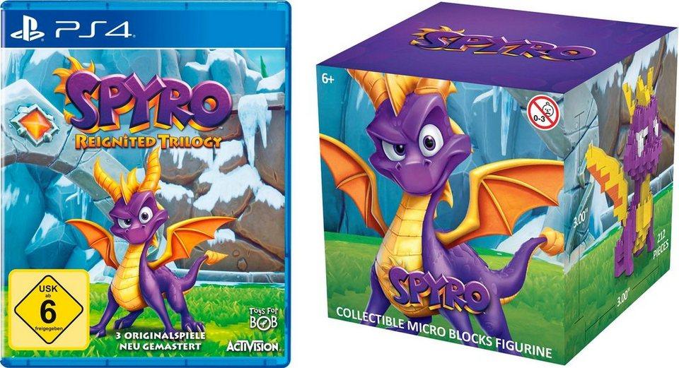 Spyro Reignited Trilogy PlayStation 4, inkl. Nanoblock