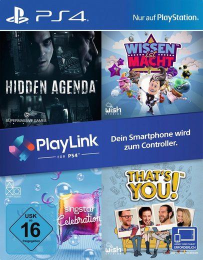 That´s You!/Wissen ist Macht/Hidden Agenda/ SingStar Celebration PlayStation 4