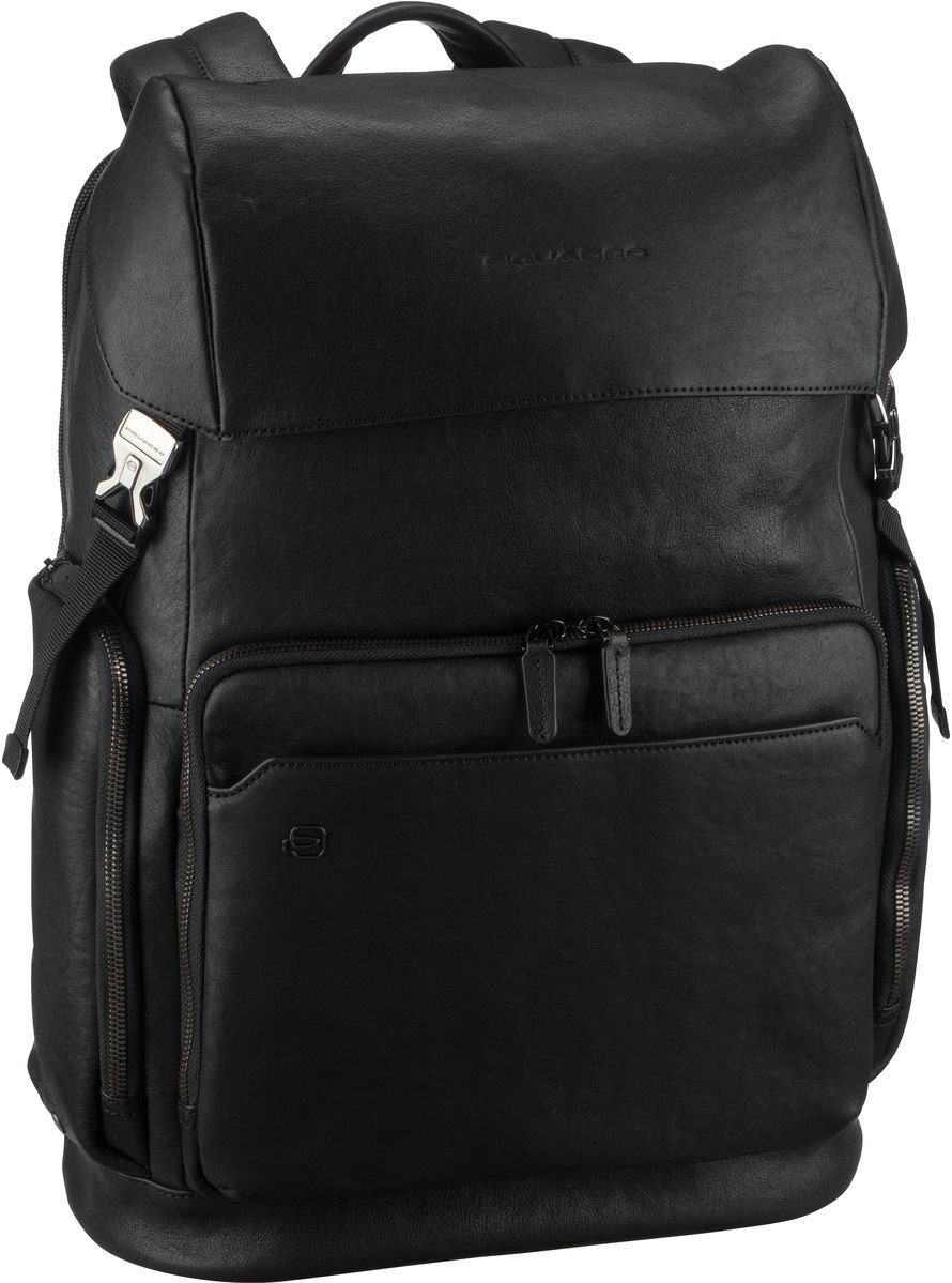 Piquadro Laptoprucksack »Black Square 4534«