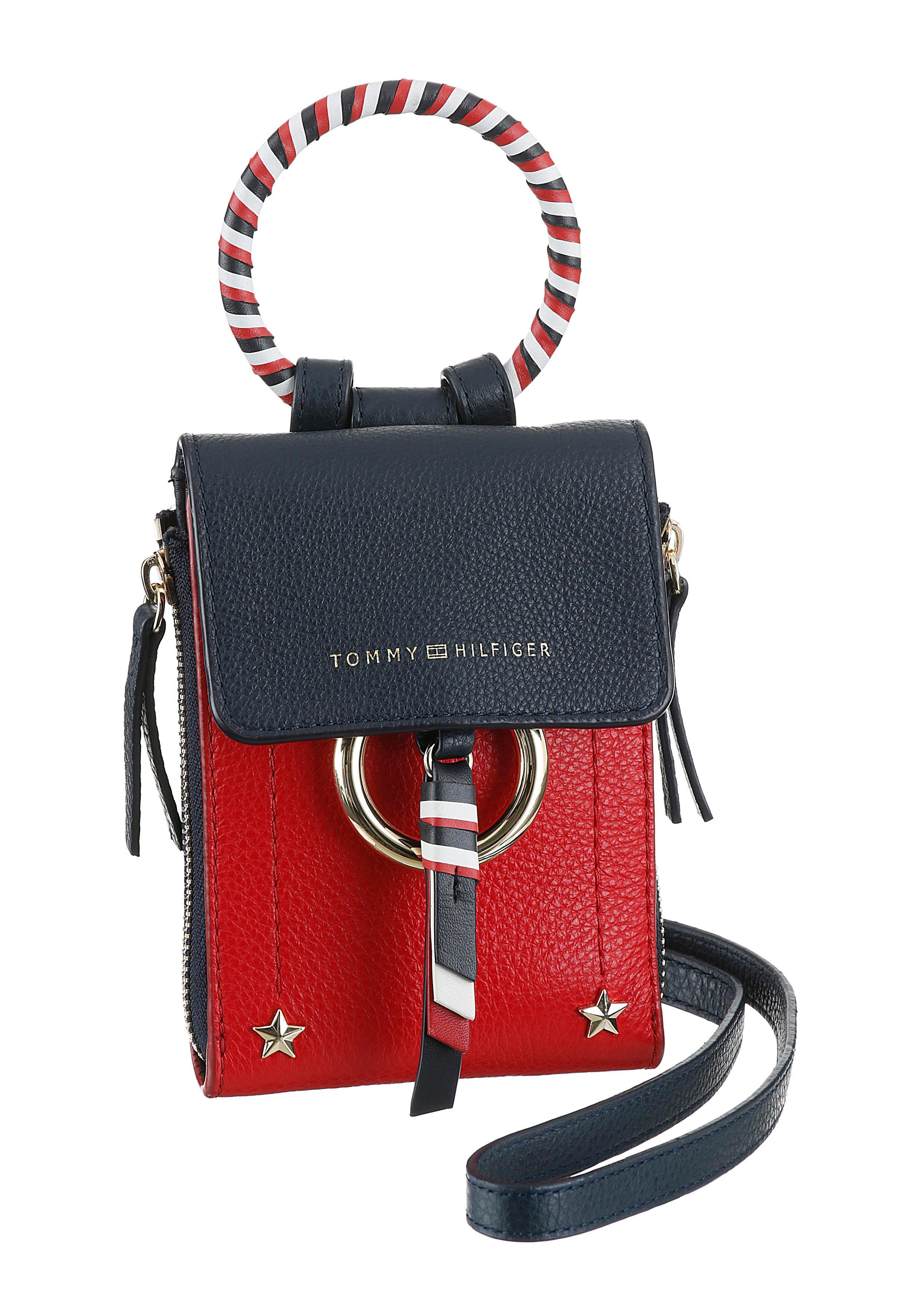 TOMMY HILFIGER Mini Bag »HERITAGE LEATHER MINI OVER«, modische Mini Bag