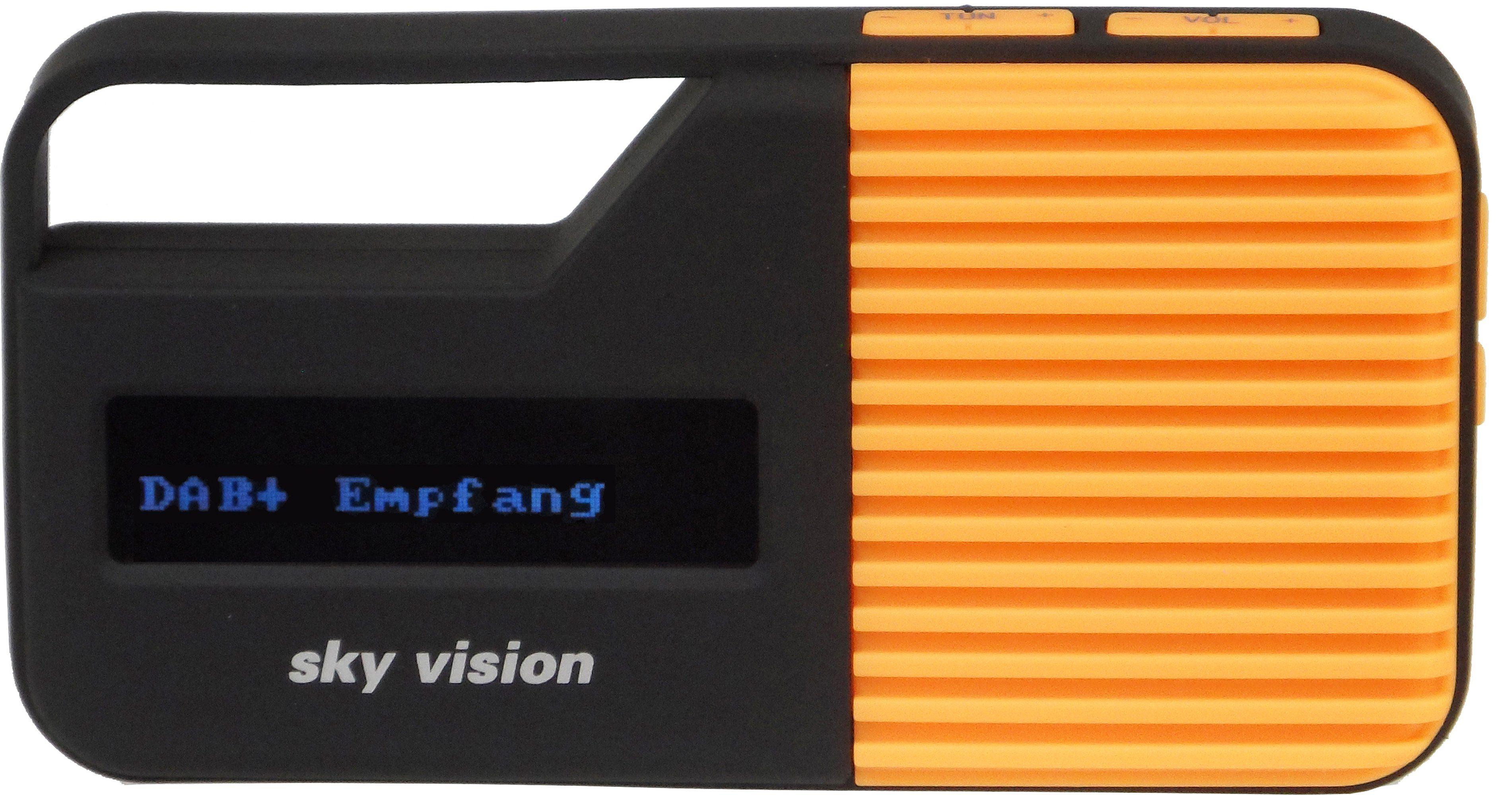 Sky Vision DAB+ / FM Radio mit LCD-Display »DAB 12 O«